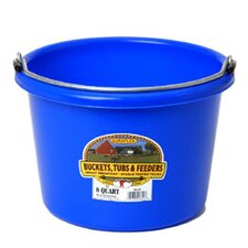 Bucket in Plastic - 8 Quart