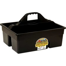 Plastic Dura Tote Box in Black
