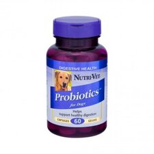 <strong>Nutri Vet Nutritionals</strong> Probiotics Capsules for Dogs