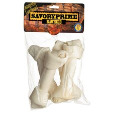Large Rawhide Bone Dog Treat (4 Pack)