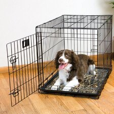 Ultra-Thin Real Tree Crate Dog Pad