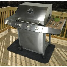 Grey Gas Portable Grill Mat
