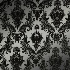 Damsel Temporary Damask Wallpaper