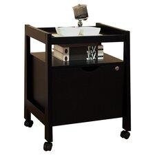 1 Drawer Hancock Modern Equipment Trolly/File Cabinet