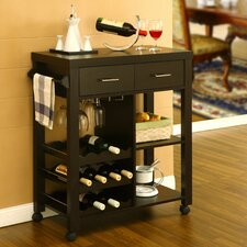 <strong>Hokku Designs</strong> Vineyard Kitchen Bar Cart