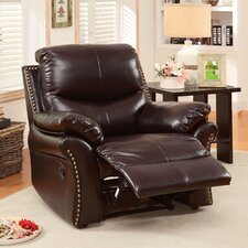 Tamner Bonded Leather Match Recliner
