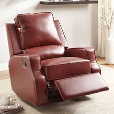 Torque Sleek Leatherette Recliner