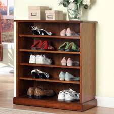 Revianne 5-Shelf Open Shoe Rack