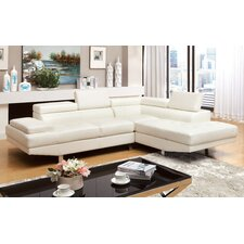 Dymitri Modern Sectional with Speaker Console
