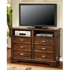 Mortellia 6 Drawer Media Chest