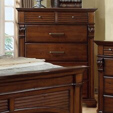 Montana 6 Drawer Lingerie Chest