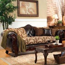 Maximillia Two-Tone Classic Sofa