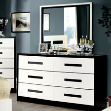 Verzaci 6 Drawer Dresser