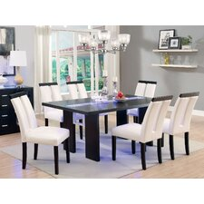Luminate 7 Piece LED Dining Set