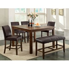 Tacinth 8 Piece Counter Height Dining Set
