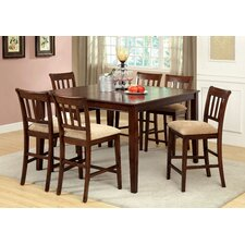 Telmore 7 Piece Counter Height Dining Set