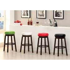 "Trixie 29"" Swivel Bar Stool (Set of 2)"