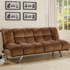<strong>Hokku Designs</strong> Jopelli Flannel Convertible Sleeper Sofa