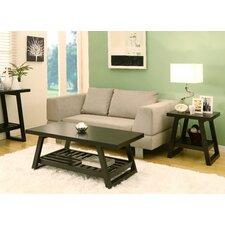 <strong>Hokku Designs</strong> Parker 2 Piece Coffee Table Set