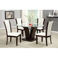 Carmilla 5 Piece Dining Set