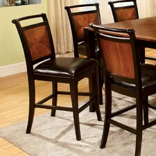 Exquisite Counter Height Side Chair (Set of 2)