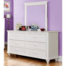 <strong>Hokku Designs</strong> Kennedy 6 Drawer Dresser
