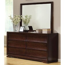 <strong>Hokku Designs</strong> Amber 6 Drawer Dresser