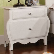 <strong>Hokku Designs</strong> Quinn 2 Drawer Nightstand