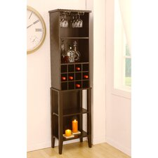 <strong>Hokku Designs</strong> Marbelle 12 Bottle Wine Cabinet