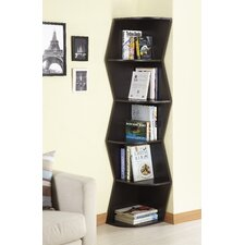 Redding 6 Shelf Corner Bookcase