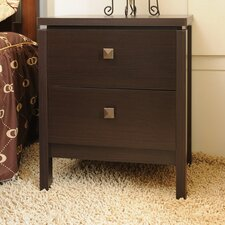 Alsa 2 Drawer Nightstand