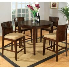 <strong>Hokku Designs</strong> Modest 5 Piece Counter Height Dining Set