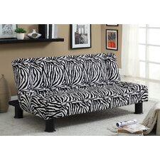 Jhalko Zebra Print Futon Chair