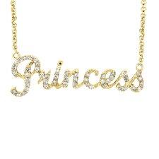 """Diamond """"Princess"""" Necklace"""