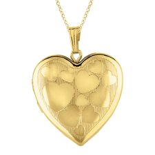 Heart Shaped Locket Necklace