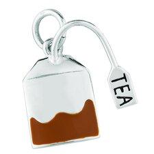 Sterling Silver Tea Bag Charm