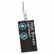 Sterling Silver Wall Street Uptown Charm