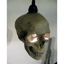 Skull 1 Light Mini Pendant