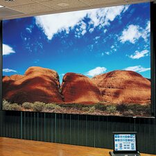 Access Series E Contrast Grey Electric Projection Screen with Low Voltage Motor