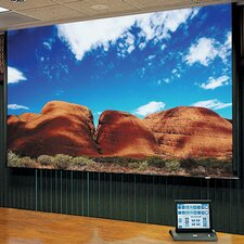 Access Series E Glass Beaded Electric Projection Screen with Low Voltage Motor