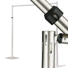 Horizontal Drape Supports for Pipe and Drape Runoffs