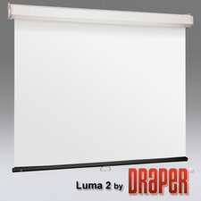 Luma 2 with AutoReturn Matt White Electric Projection Screen