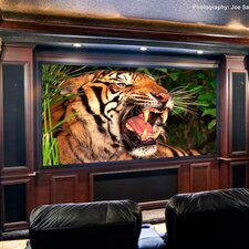 "ShadowBox Clarion CineFlex CH1200V 113"" Fixed Frame Projection Screen"
