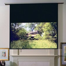 Ultimate Access Series E Pearl White Electric Projection Screen