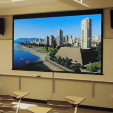 Access/Series M Contrast Radiant Electric Projection Screen with Low Voltage Motor