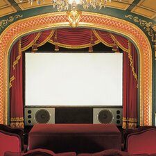 Cineperm Clear Sound White Weave Projection Screen