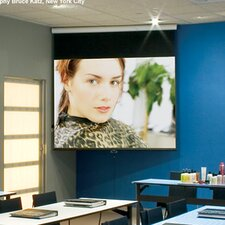 Luma Contrast Radiant Electric Projection Screen with Low Voltage Motor