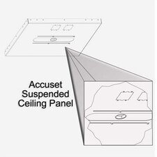 "<strong>Draper</strong> Aero Accuset Suspended-Ceiling Panel (1 1/2"" pipe)"