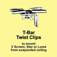T-Bar Twist Clips