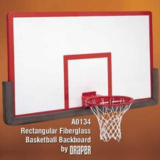 Rectangular Fiberglass Basketball Backboard